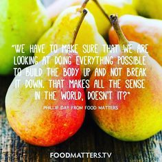 Food Matters uncovers the secrets of natural health to help you achieve optimum wellness! Discover inspiring documentaries, wellness guides, nutrition tips, healthy recipes, and more. Nutrition Quotes, Health Quotes, Nutrition Tips, Health And Nutrition, Health And Wellness, Health Tips, Wellness Quotes, Health Facts, Mantra