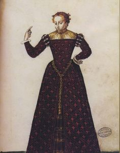 Italian Gentlewoman's Gown from The Milanese Tailor's Book. Renaissance extant pattern book