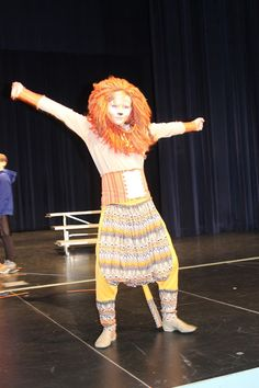 We were all excited when Thomas was cast as Simba in the school district's performance of The Lion King Jr.  We exclaimed and high fived an...