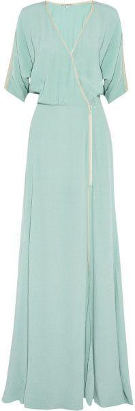 Dagmar Green Lilian Crepe Maxi Dress - perfect maternity maxi dress