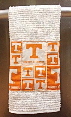 Kitchen or Hand Towel, University of Tennessee, Vols, U of TN, UT towel, vol towel, volunteers