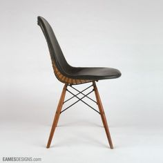 The first Eames Side Chairs were not always the way we know them to be now... They were pleather!
