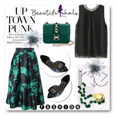 """""""Beautifulhalo 12"""" by sena87 ❤ liked on Polyvore featuring Valentino and bhalo"""