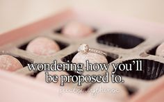 I think about this all the time! Just girly things