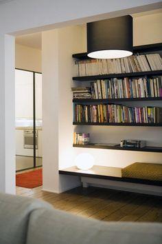 between two walls - bookshelf