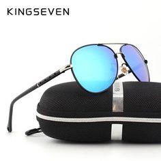 885a6688656a 2016 New Arrival KINGSEVEN Polarized Sunglasses Men Women Brand Designer  Male vintage Sun Glasses gafas oculos de sol masculino - Bamba Sportive
