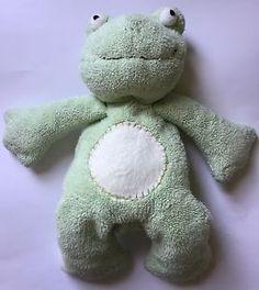 Pottery Barn Kids Pbk Light Green Plush Frog Sherpa Beanie Stuffed Animal Toy | eBay
