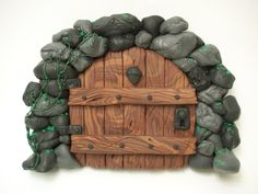 Image detail for -Stone Arch Acorn Fairy Door by ~KimsButterflyGarden on deviantART