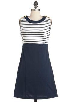 Run the Showboat Dress (Love nautical stuff!)