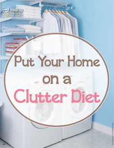Just like excess weight, clutter can slow you down.  Here's how to get it under control -- and keep it that way.