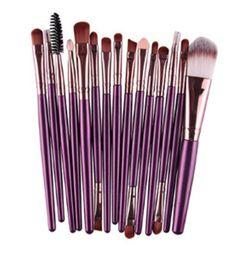 15Pcs Makeup Brush Professional Women Foundation Eyeshadow Eyeliner Lip Brand Make Up Cosmetic Pincel Maquiagem Eye Brushes Set