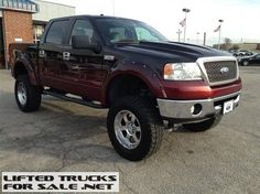 2007 Ford F150 4WD Supercab Lariat Lifted Truck