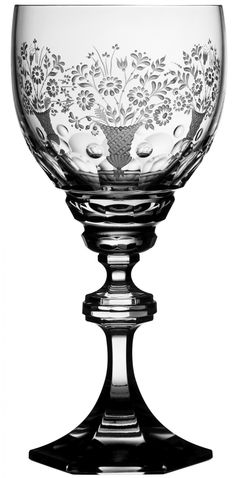 Varga Art Crystal Manufacturing Co. Ltd. - OFFICIAL WEBSITE ~ Florence Water Goblet