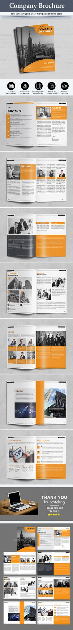 The Company Brochure - Corporate Brochures