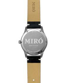 Miró Classic 40mm Creme Black - Hinten