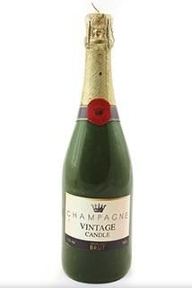 Candle: Champagne Bottle - £12.00 - Antique Rose Boutique