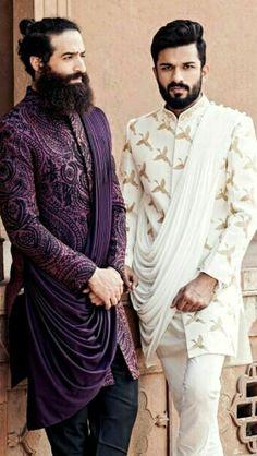 India Fashion Men, Indian Men Fashion, Mens Fashion Wear, Sherwani For Men Wedding, Wedding Dress Men, Wedding Suits, Kurta Men, Kurta Pajama Men, Indian Groom Dress