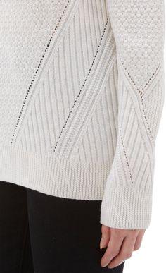 Proenza Schouler Mixed-Knit Oversize Sweater