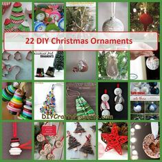 These are 22 of the best Christmas Ornament Ideas to fill those clear glass ornaments. Most are super simple and still so beautiful. They would make great gifts or use for an ornament exchange.        Handmade Handprint Ornaments      Quick and easy Christmas ornament project      DIY GLITTERED ...