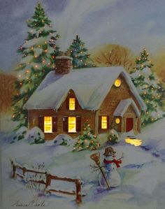 merry christmas wishes Morning My Love You Christmas Scenery, Merry Christmas Images, Cozy Christmas, Christmas Past, Vintage Christmas Cards, Christmas Wishes, Christmas Holidays, Christmas Crafts, Christmas Decorations