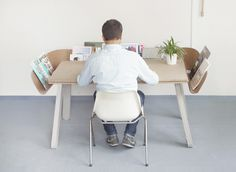Display Your Desk Clutter: Homework By Tomas Kral