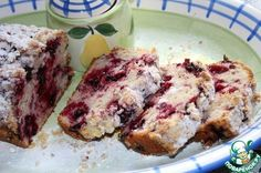 Сметанный кекс с ягодами ингредиенты
