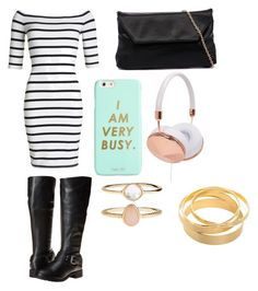 """""""Casual School Day #6"""" by seragart on Polyvore featuring Superdry, Fitzwell, Frends, ban.do and Accessorize"""