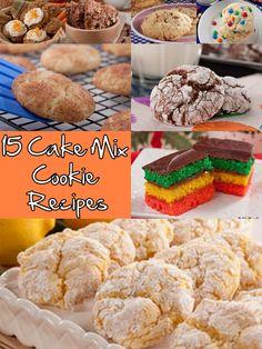 Cake Mix Cookies Recipes #cookies #cook #recipes #cake