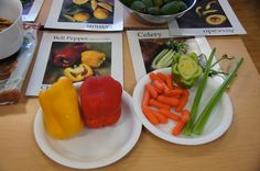 Learning about real food in the LA pilot of our Learn Your Fruit and Vegetables program following Food Revolution Day 2012.