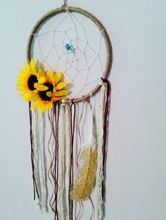 Dreamcatcher Bohemian Boho chic Dreamcatcher by BlairBaileyDesign