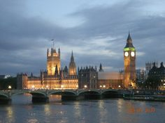 Houses of Parliament & Big Ben - in recess during the summer, so no tours, but still a scenic spot.
