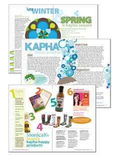 End of Spring: Kapha Magazine and Playlist Ayurveda – Everyday Ayurveda - Ayurveda Lifestyle Ayurvedic Hair Care, Ayurvedic Diet, Ayurvedic Centre, Ayurvedic Healing, Ayurveda, Aryuvedic Recipes, Health Tips, Health And Wellness, Health Care