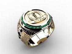 Anel Formatura Premium Medicina Fashion Watches, Fashion Rings, Boho Fashion, Mens Fashion, Ring Bracelet, Bracelet Watch, Spiritual Jewelry, Five Star, Bracelets For Men