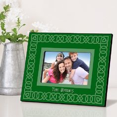 Celtic Green Picture Frame