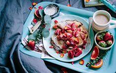 ▷ jahodalera.cz ⋆ Samosběry a prodej jahod 2021 Breakfast Pancakes, Breakfast In Bed, White Pasta, Good Morning Images Hd, Sugar Cravings, Buckwheat, Image Hd, Food Menu, Bruschetta
