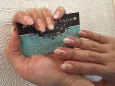 Gel Polish Nail Design on Real Nails #Atlanta #manicure #nailsalon