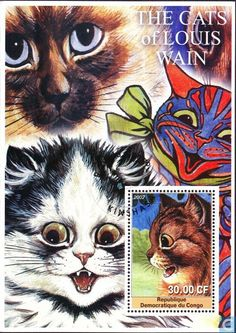 Postage Stamps - Congo-Kinshasa [COD] - Cats