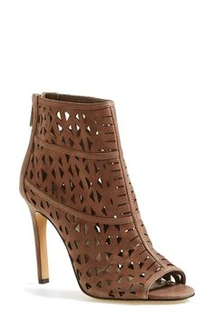 Vince Camuto 'Kachina' Open Toe Bootie (Women) (Nordstrom Exclusive) available at #Nordstrom