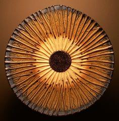 """""""Shield Mandalas"""" Ceramic Platters by David McDonald"""