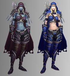 wow evil and good World Of Warcraft 3, Warcraft Art, Fantasy Battle, Dark Fantasy, Lady Sylvanas, Sylvanas Windrunner, Anime Cosplay Girls, Female Elf, Elfa