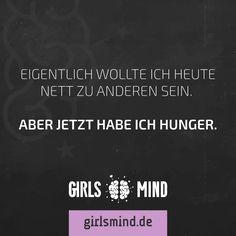 Zeit für eine Pause!  Mehr Sprüche auf: www.girlsheart.de  #hunger #mittag #essen #pause