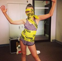 Kendall with caution tape Kendall K Vertes, Dance Moms Girls, Chloe, Dancer, Daughter, The Incredibles, Celebrities, Instagram, Swimwear