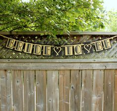 Bride To Be Banner// Gatsby Bachelorette //Hen Party// Wedding Shower Decor //Custom Banner // Black and Gold