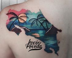 A country that gives hugs and kisses to greet. My home Costa Rica by kevin_poveda Sun Tattoos, Baby Tattoos, Body Art Tattoos, Tattoo Ink, Creative Tattoos, Unique Tattoos, Tattoo Sleeve Designs, Sleeve Tattoos, Traditonal Tattoo