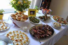 "bridal shower food ideas | SoCal Chic"" Bridal Shower"