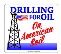 drilling for oil ON AMERICAN SOIL