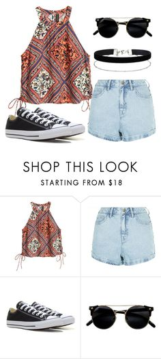 """Untitled #76"" by marija-jozic on Polyvore featuring New Look, Converse and Miss Selfridge"