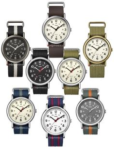 Timex Weekender - Simple and diverse!