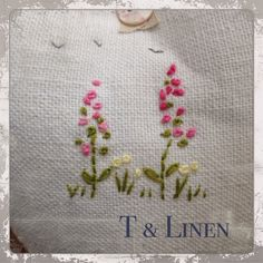 T & Linen design, Lavender bag, one of my creations this spring