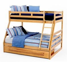 Shop For The New Classic Casual Oak Youth Twin/Full Oak Bunk Bed At Becku0027s  Furniture   Your Sacramento, Rancho Cordova, Roseville, California Furniture  ...